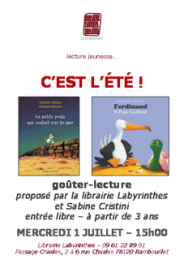 Gouter-lecture