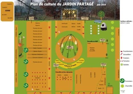 Plan de culture jardin partagé
